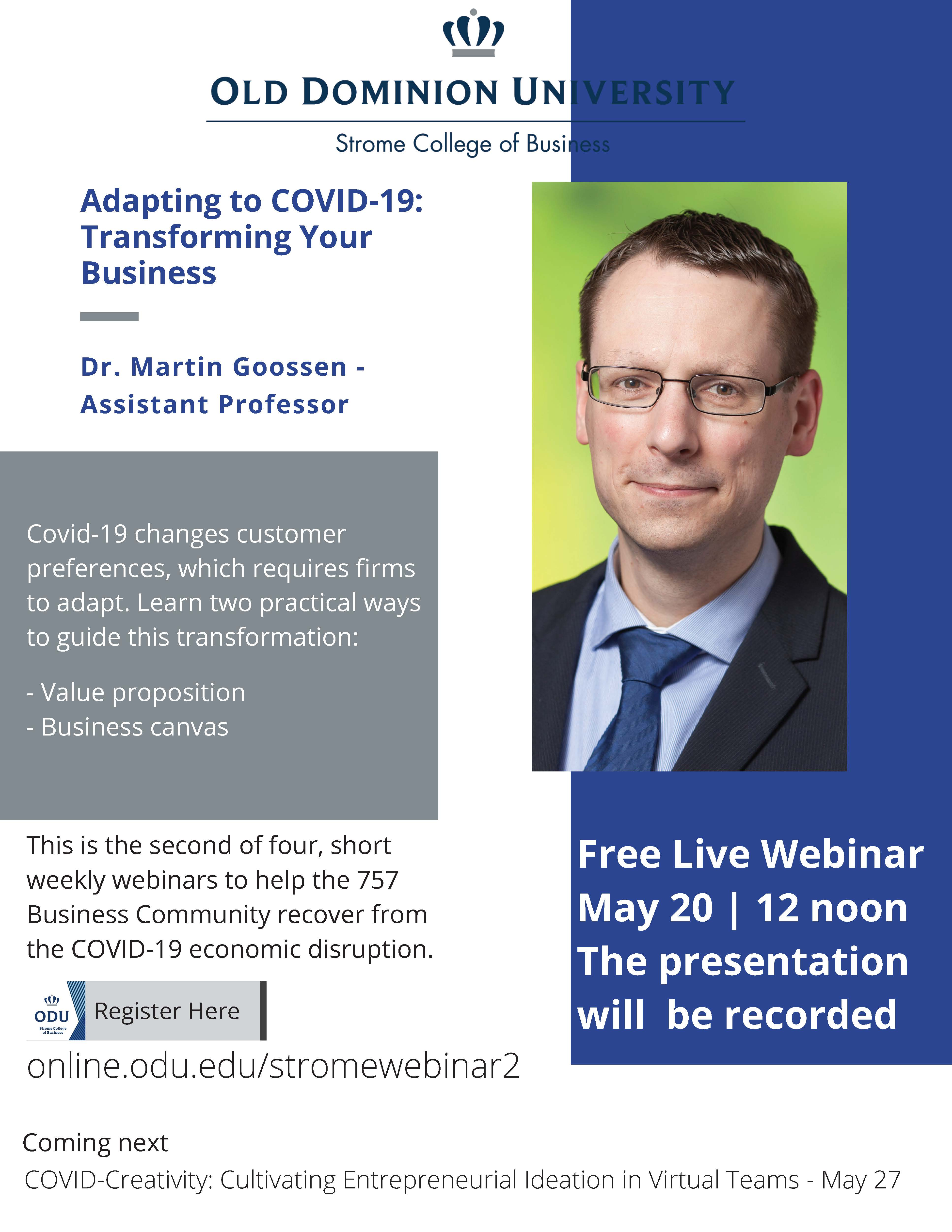 Adapting to Covid-19: Transforming your Business